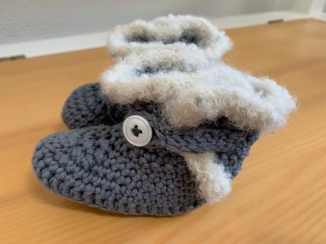 Makerist - Baby  winterliche Boots bis 1 Jahr - Häkelprojekte - 1