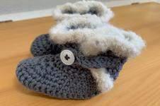 Makerist - Baby  winterliche Boots bis 1 Jahr - 1