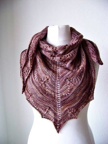 Makerist - Coffee Toffee Shawl - Knitting Showcase - 1