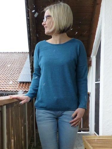 Makerist - Shirt Amylee aus Merinostrick  - Nähprojekte - 1