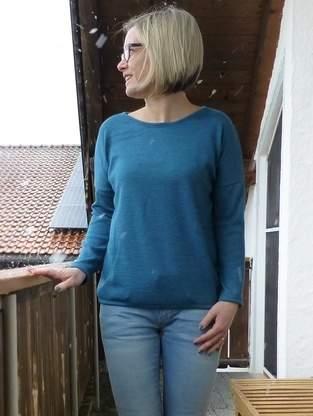 Makerist - Shirt Amylee aus Merinostrick  - 1