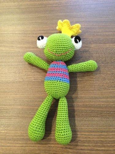 Makerist - Kleiner Froschkönig zur Geburt - Häkelprojekte - 1