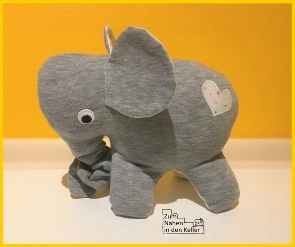 Makerist - Spieluhr-Elefant Anton - Nähprojekte - 1
