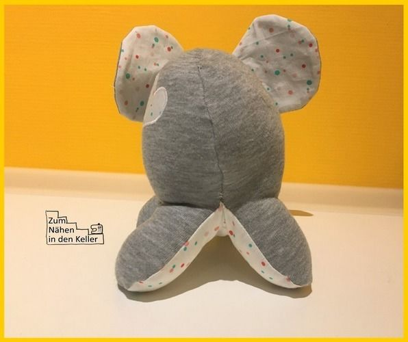 Makerist - Spieluhr-Elefant Anton - Nähprojekte - 3