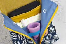 Makerist - Periodentäschchen Petra für die Menstruationstasse - 1