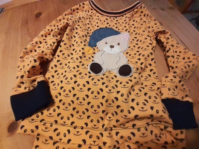 Makerist - Schlafbär Stickdatei  - Textilgestaltung - 1
