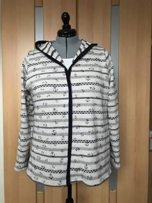 Makerist - Strickjacke maritim - 1