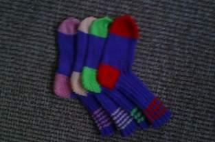 Makerist - Bunte Socken - 1