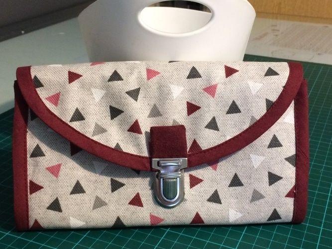 Makerist - Compagnon,le tissu exterieur est enduit ,le tissu intérieur en co5on - Créations de couture - 1