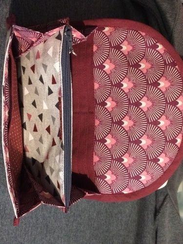 Makerist - Compagnon,le tissu exterieur est enduit ,le tissu intérieur en co5on - Créations de couture - 2