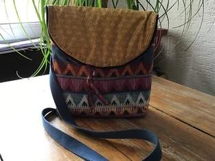 Schultertasche Canaria Bag von Unikati