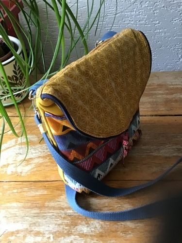 Makerist - Schultertasche Canaria Bag von Unikati - Nähprojekte - 2