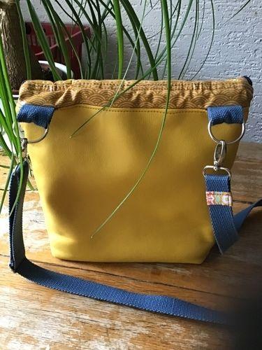Makerist - Schultertasche Canaria Bag von Unikati - Nähprojekte - 3