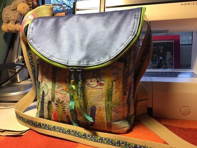 Makerist - Schultertasche Canaria Bag von Unikati - Nähprojekte - 1