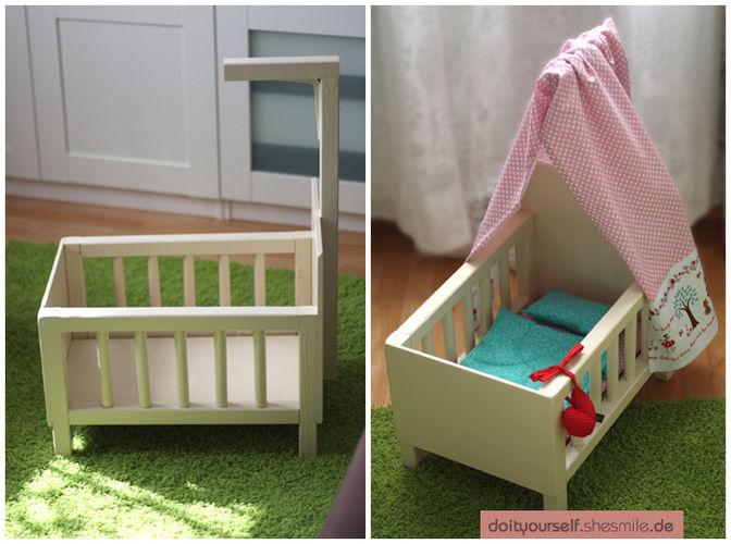 Makerist - Puppenbett für meine Tochter - DIY-Projekte - 1