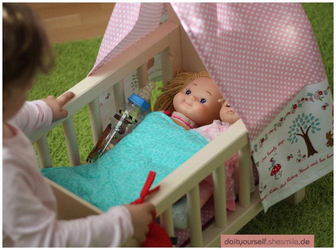 Makerist - Puppenbett für meine Tochter - DIY-Projekte - 2