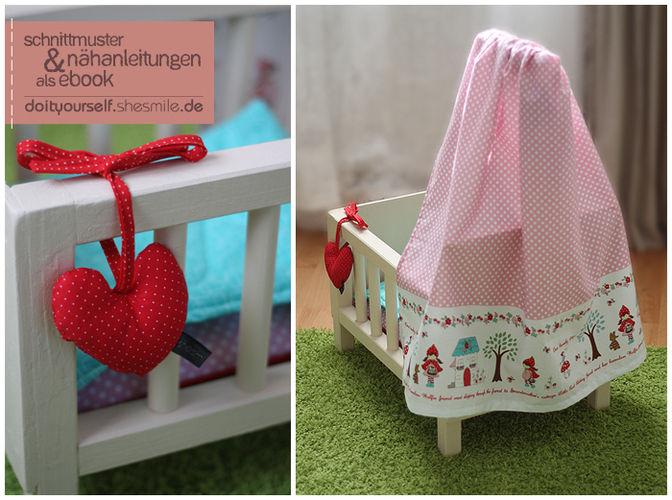 Makerist - Puppenbett für meine Tochter - DIY-Projekte - 3