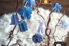 Makerist - 3D Weihnachtsdeko mit dem Papier Winterpalette1 von Biberwerke - 1