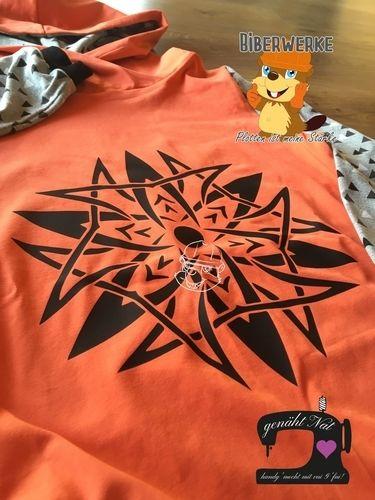 Makerist - Tribal Kreis No.5 von Biberwerke auf ein Shirt für meinen Neffen - Textilgestaltung - 1