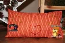 Makerist - Strass Mini Motive von Biberwerke kamen auf ein Zierkissen - 1