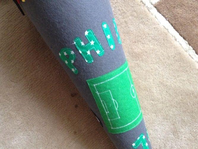 Makerist - Weltmeister Schultüte für meinen Sohn zur Einschulung - DIY-Projekte - 2