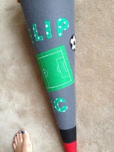 Makerist - Weltmeister Schultüte für meinen Sohn zur Einschulung - DIY-Projekte - 3