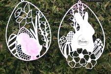 Makerist - Fensterbild Osterhase und Fensterbild Ostern - 1