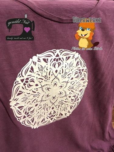 Makerist - Entgitteryoga für Fortgeschrittene2 von Biberwerke auf ein Kaufshirt - Textilgestaltung - 1