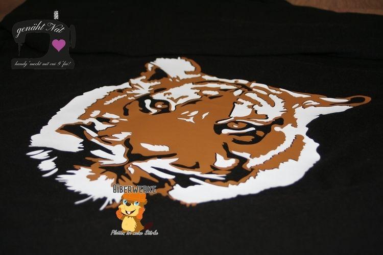 Makerist - Plottdatei Tiger von Biberwerke  - Textilgestaltung - 1