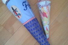 Makerist - Schultüten für Ritter und Prinzessin - 1
