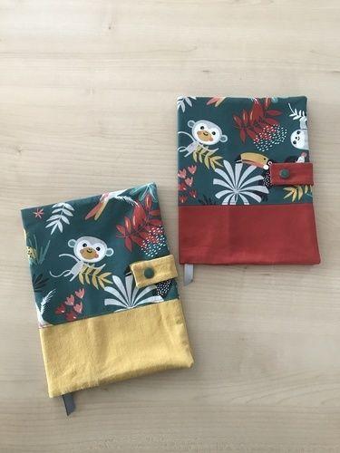 Makerist - Protèges carnets de santé  MAUPITI  - Créations de couture - 1