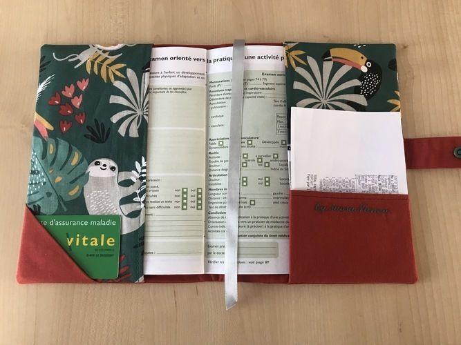 Makerist - Protèges carnets de santé  MAUPITI  - Créations de couture - 2