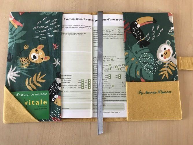Makerist - Protèges carnets de santé  MAUPITI  - Créations de couture - 3