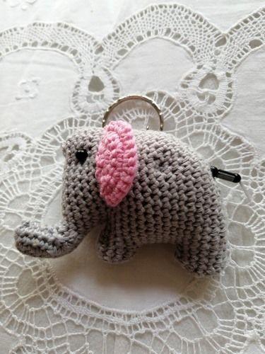 Makerist - Elephanteau porte clé - Créations de crochet - 2