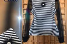 Makerist - Lacona Shirt ...Jersey plus Tüll  - 1