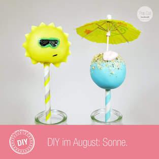 Makerist - Tutorial – Sonnen Cake Pop - 1