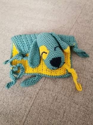 Makerist - Schnuffeltuch Hund - 1