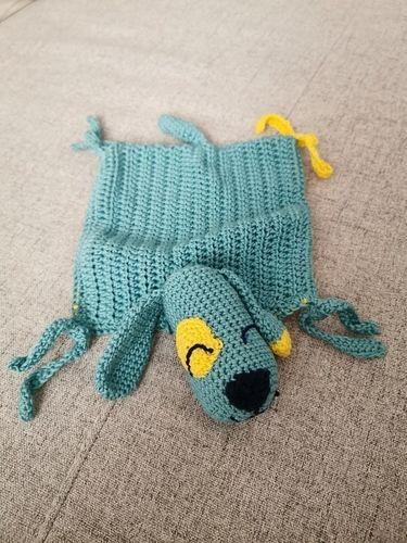 Makerist - Schnuffeltuch Hund - Häkelprojekte - 2