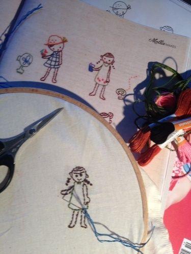 Makerist - Sommer Projekt Sticken - DIY-Projekte - 1