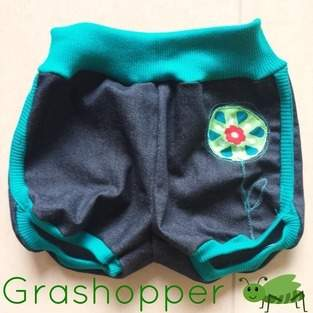 Makerist - Grashüpfer Babyshorts - 1