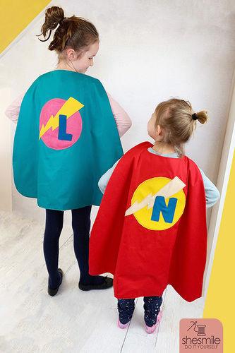 Makerist - Einen Superhelden-Umhang für Kinder nähen! - Nähprojekte - 1