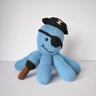 Makerist - Pirate Captain Octopus - 1