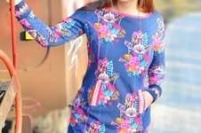 Makerist - Kleid Brilliant aus Sweat mit versetzten Taschen - 1