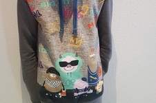 "Makerist - Mix & Match Hoodie ""Coole Monster"" - 1"
