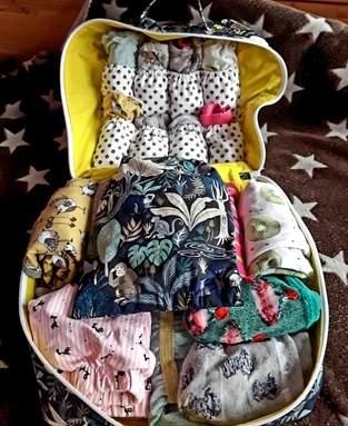 Wäscheköfferchen