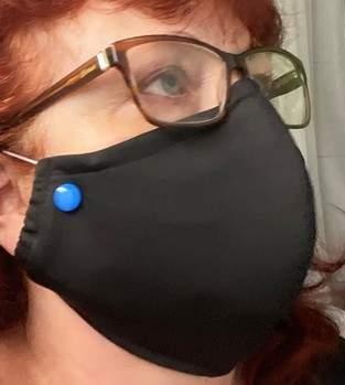 Gesichtsschutz / Mundschutz selber nähen / Gratisschnittmuster