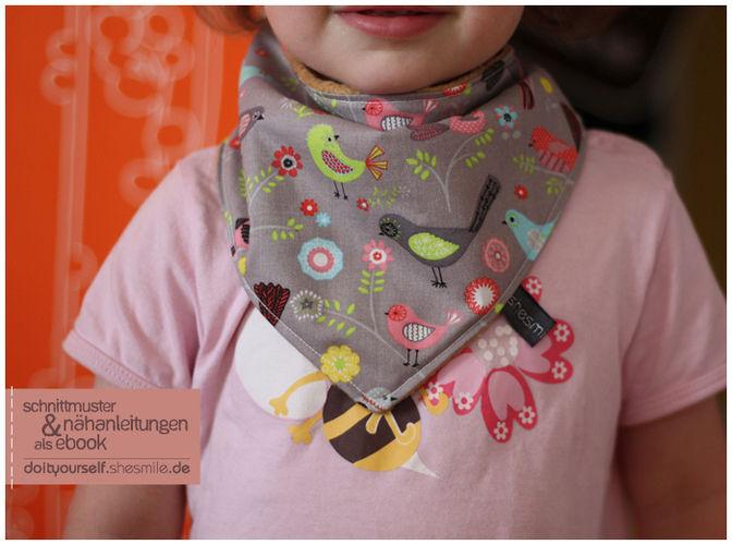 Makerist - Kuschel-Halstuch für meine Tochter - Nähprojekte - 1