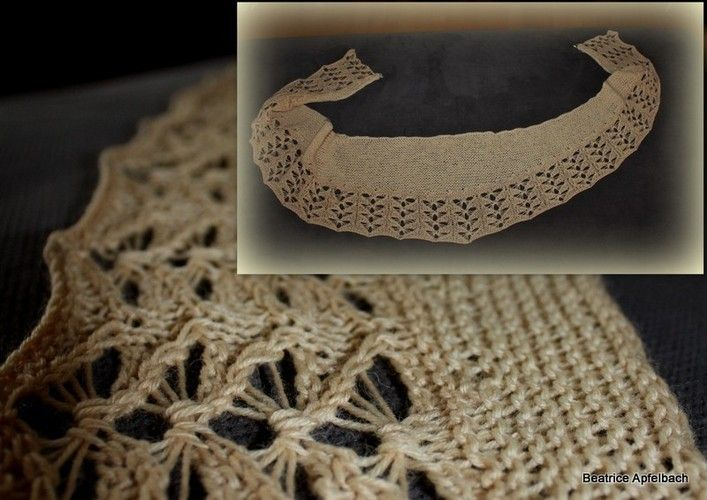 Makerist - Milk and Honey Tuch; aus solargefärbter Wolle - Strickprojekte - 1