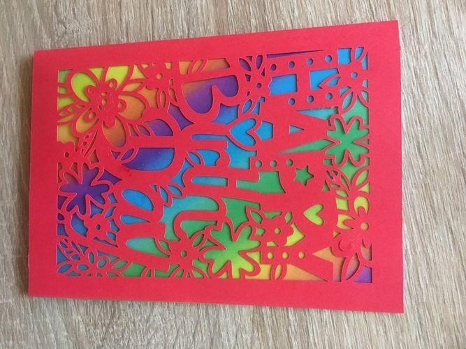 Makerist - Geburtstagskarte geplottet  - DIY-Projekte - 1