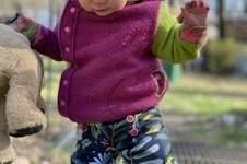 Makerist - Meine allerliebste Hose überhaupt!!! Pumphose Karl Knopf ist einfach die beste Hose überhaupt!!! Ob Jeans, Softshell oder Fleece etc. Immer ein Hingucker, der mitwächst :) - 1